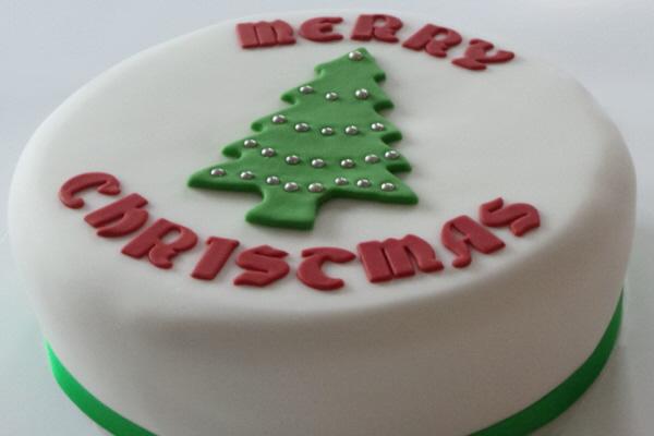 Christmas Tree Cake The Vegan Cakery