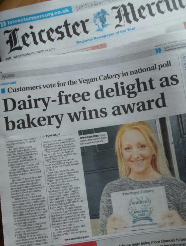 The Cake Shop Leicester Vegan